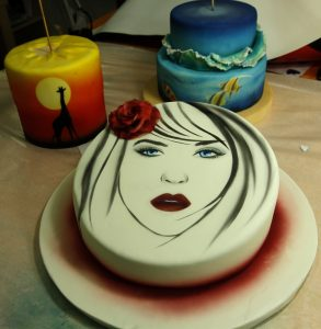 Corso aerografo cake design