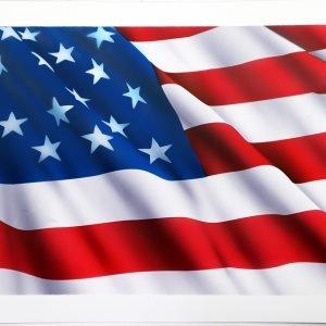 corso aerografo principianti bandiera americana